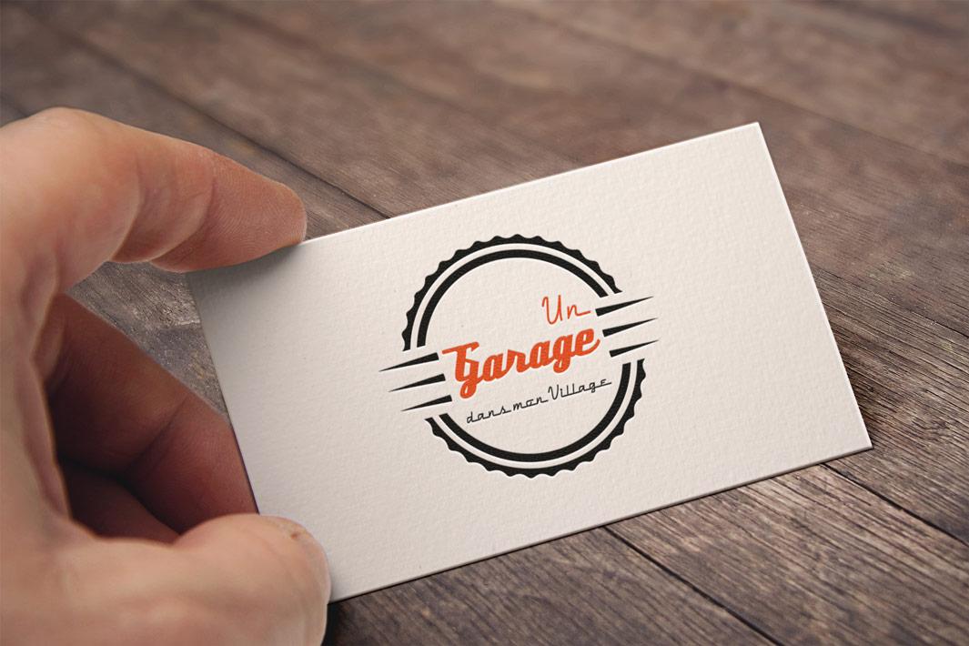 Réalisation de logo pour un garage automobile en Limousin, Creuse, Nouvelle-Aquitaine